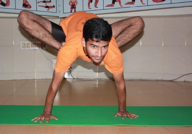 4 Master Raja From Yoga College of Chennaï